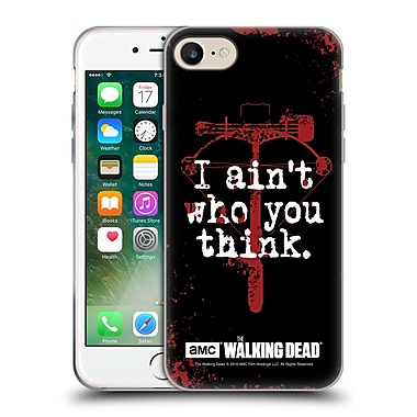 Official Amc The Walking Dead Quotes Daryl Think Soft Gel Case For Apple Iphone 7