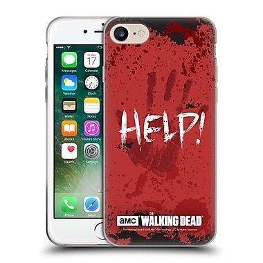 Official Amc The Walking Dead Quotes Help Soft Gel Case For Apple Iphone 7