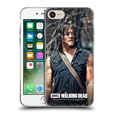 Official Amc The Walking Dead Daryl Dixon Look Soft Gel Case For Apple Iphone 7