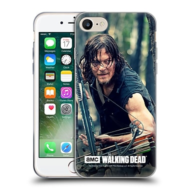 Official Amc The Walking Dead Daryl Dixon Lurk Soft Gel Case For Apple Iphone 7