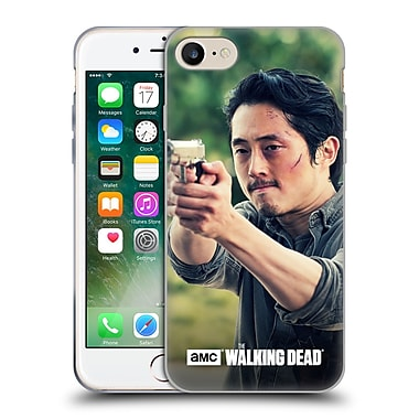 Official Amc The Walking Dead Glenn Rhee Pointing Gun Soft Gel Case For Apple Iphone 7