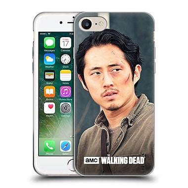 Official Amc The Walking Dead Glenn Rhee Looking Sideways Soft Gel Case For Apple Iphone 7