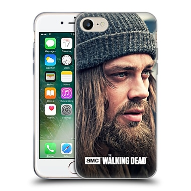 Official Amc The Walking Dead Jesus Staring Into Distance Soft Gel Case For Apple Iphone 7