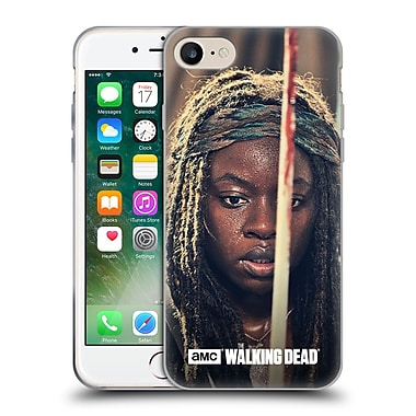 Official Amc The Walking Dead Michonne Bloody Sword Soft Gel Case For Apple Iphone 7
