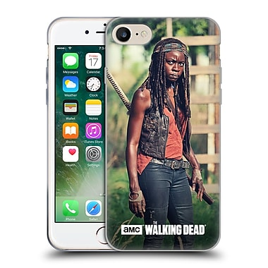 Official Amc The Walking Dead Michonne Stare Soft Gel Case For Apple Iphone 7