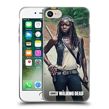 Official Amc The Walking Dead Michonne Stance Soft Gel Case For Apple Iphone 7