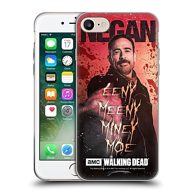 Official Amc The Walking Dead Negan Eeny Miney Coloured Soft Gel Case For Apple Iphone 7