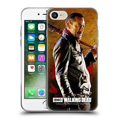 Official Amc The Walking Dead Negan Lucille 1 Soft Gel Case For Apple Iphone 7