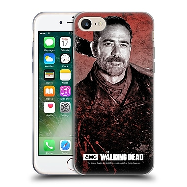 Official Amc The Walking Dead Negan Lucille 2 Soft Gel Case For Apple Iphone 7