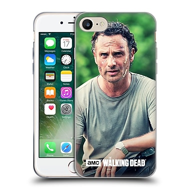 Official Amc The Walking Dead Rick Grimes Half Body Soft Gel Case For Apple Iphone 7