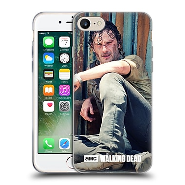 Official Amc The Walking Dead Rick Grimes On The Ground Soft Gel Case For Apple Iphone 7