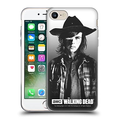 Official Amc The Walking Dead Filtered Portraits Carl Soft Gel Case For Apple Iphone 7