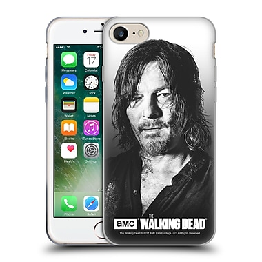 Official Amc The Walking Dead Filtered Portraits Daryl Soft Gel Case For Apple Iphone 7