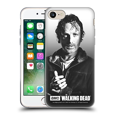 Official Amc The Walking Dead Filtered Portraits Rick Soft Gel Case For Apple Iphone 7