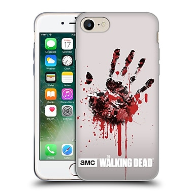 Official Amc The Walking Dead Silhouettes Hand Soft Gel Case For Apple Iphone 7