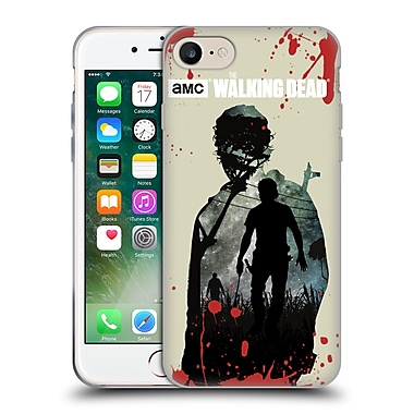 Official Amc The Walking Dead Silhouettes Rick Soft Gel Case For Apple Iphone 7