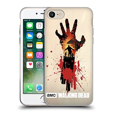 Official Amc The Walking Dead Silhouettes Walker Hand Soft Gel Case For Apple Iphone 7