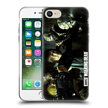Official Amc The Walking Dead Walker Character Daryl Gun Soft Gel Case For Apple Iphone 7