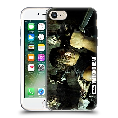 Official Amc The Walking Dead Walker Character Daryl Knife Soft Gel Case For Apple Iphone 7