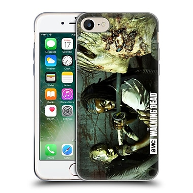 Official Amc The Walking Dead Walker Character Michonne Soft Gel Case For Apple Iphone 7
