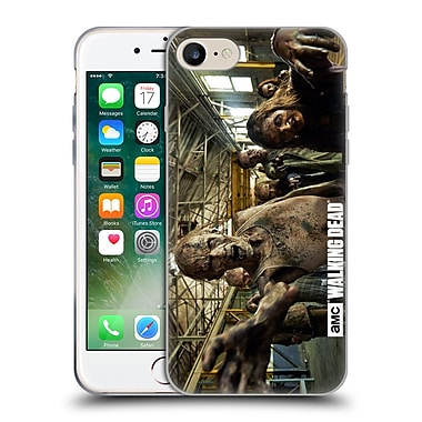 Official Amc The Walking Dead Walker Character Walker Chase Soft Gel Case For Apple Iphone 7