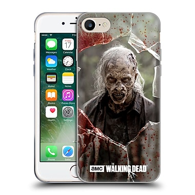 Official Amc The Walking Dead Walkers Angry Soft Gel Case For Apple Iphone 7