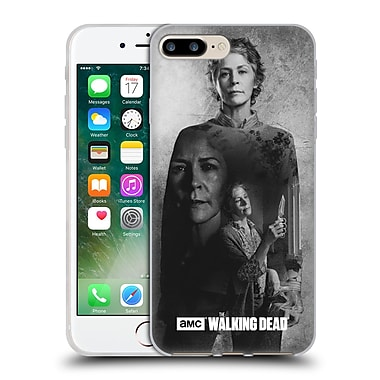 Official Amc The Walking Dead Exposure Carol Soft Gel Case For Apple Iphone 7 Plus