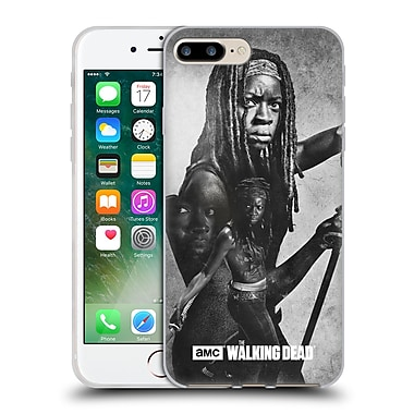 Official Amc The Walking Dead Exposure Michonne Soft Gel Case For Apple Iphone 7 Plus