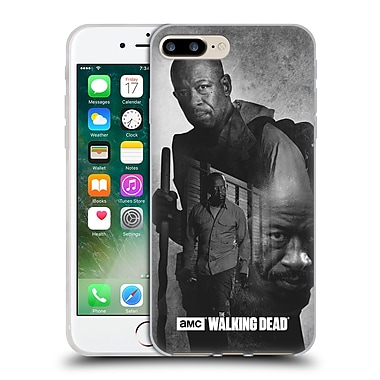 Official Amc The Walking Dead Exposure Morgan Soft Gel Case For Apple Iphone 7 Plus