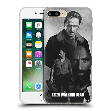 Official Amc The Walking Dead Exposure Rick Soft Gel Case For Apple Iphone 7 Plus