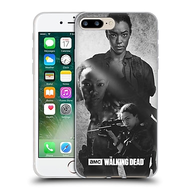 Official Amc The Walking Dead Exposure Sasha Soft Gel Case For Apple Iphone 7 Plus