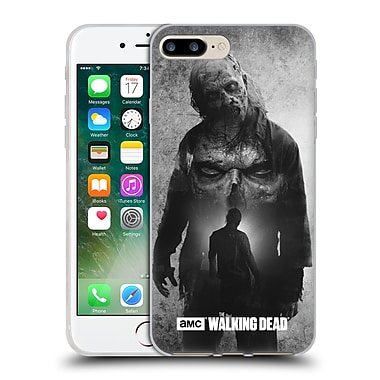 Official Amc The Walking Dead Exposure Walker Soft Gel Case For Apple Iphone 7 Plus