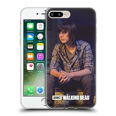 Official Amc The Walking Dead Filtered Characters Carl Soft Gel Case For Apple Iphone 7 Plus