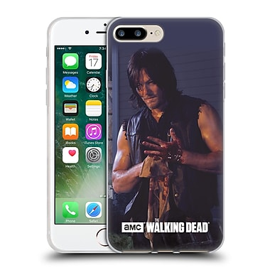 Official Amc The Walking Dead Filtered Characters Daryl Soft Gel Case For Apple Iphone 7 Plus