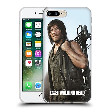 Official Amc The Walking Dead Filtered Characters Daryl Crossbow Soft Gel Case For Apple Iphone 7 Plus