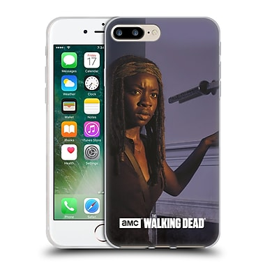 Official Amc The Walking Dead Filtered Characters Michonne Soft Gel Case For Apple Iphone 7 Plus