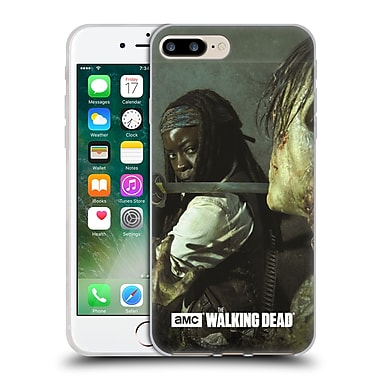Official Amc The Walking Dead Filtered Characters Michonne Katana Soft Gel Case For Apple Iphone 7 Plus