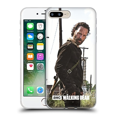 Official Amc The Walking Dead Filtered Characters Rick Gun Soft Gel Case For Apple Iphone 7 Plus