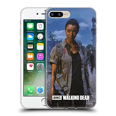 Official Amc The Walking Dead Filtered Characters Sasha Soft Gel Case For Apple Iphone 7 Plus