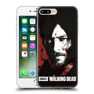 Official Amc The Walking Dead Gore Blood Bath Daryl Soft Gel Case For Apple Iphone 7 Plus