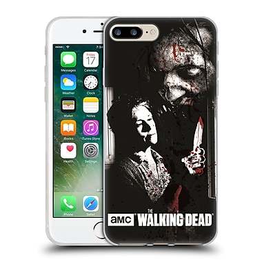 Official Amc The Walking Dead Gore Fearless Carol Soft Gel Case For Apple Iphone 7 Plus