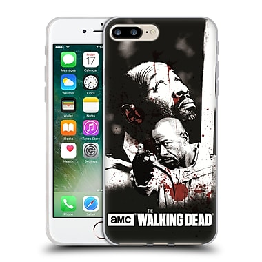 Official Amc The Walking Dead Gore Morgan Soft Gel Case For Apple Iphone 7 Plus