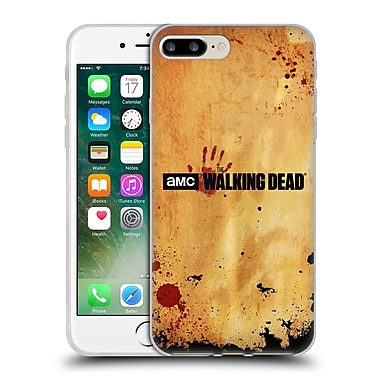 Official Amc The Walking Dead Logo Horizontal Soft Gel Case For Apple Iphone 7 Plus