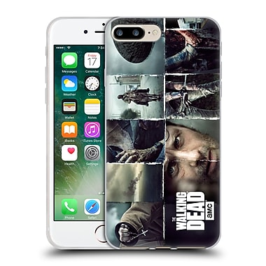 Official Amc The Walking Dead Logo Key Art Horizontal Soft Gel Case For Apple Iphone 7 Plus