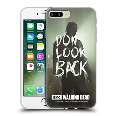 Official Amc The Walking Dead Quotes Dont Look Back Soft Gel Case For Apple Iphone 7 Plus