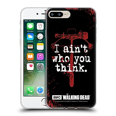 Official Amc The Walking Dead Quotes Daryl Think Soft Gel Case For Apple Iphone 7 Plus