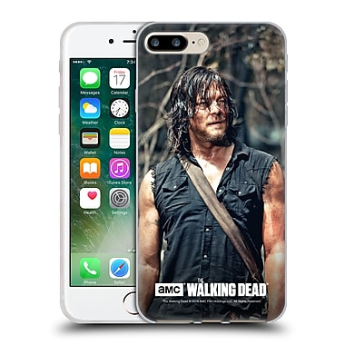 Official Amc The Walking Dead Daryl Dixon Look Soft Gel Case For Apple Iphone 7 Plus