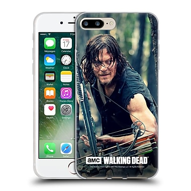 Official Amc The Walking Dead Daryl Dixon Lurk Soft Gel Case For Apple Iphone 7 Plus