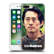 Official Amc The Walking Dead Glenn Rhee Face Soft Gel Case For Apple Iphone 7 Plus