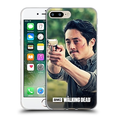Official Amc The Walking Dead Glenn Rhee Pointing Gun Soft Gel Case For Apple Iphone 7 Plus